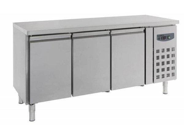 Combisteel Cool Workbench - Stainless Steel - 3 door - 180x70x (h) 85cm