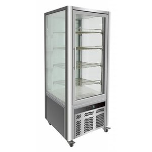 Combisteel Pastry Showcase Level 4 - 468 Liter - 70x70x (h) 180cm