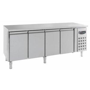 Combisteel Cool Workbench - SS - 4 door - 223x60x (h) 86cm