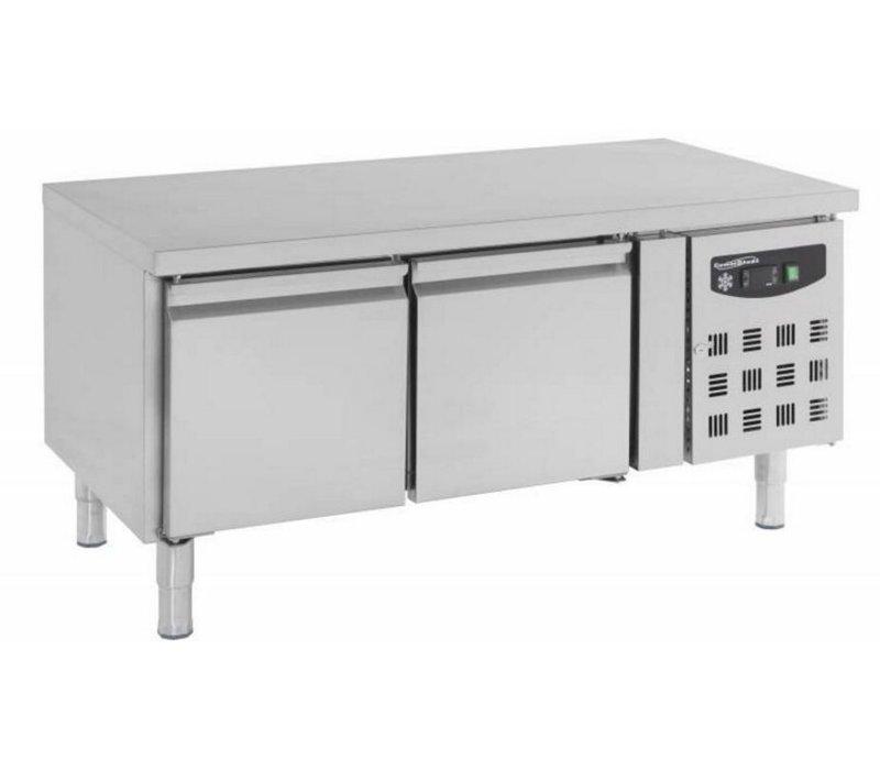 Combisteel Low Temperature Model Workbench - SS - 2 Doors - 136x70x (h) 65cm