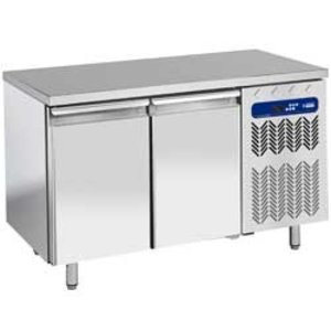 Diamond Ventilated freezer table | 2 Doors | Temperature: -10 ° -20 ° | 600x400