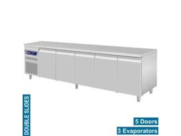 Diamond Cool Workbench RVS - 5 Doors - Engine Links - 2625x700x (H) 850 / 900mm - European