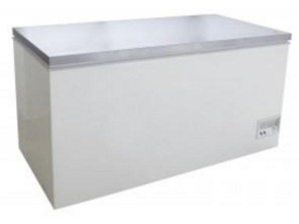Saro Edelstahl Gefrierschrank - 133x70x (h) 83cm - 390 Gallonen