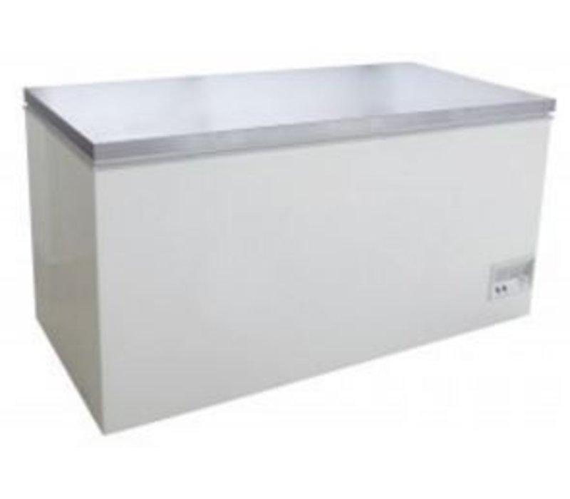 Saro RVS Diepvrieskist - 133x70x(h)83cm - 390 liter