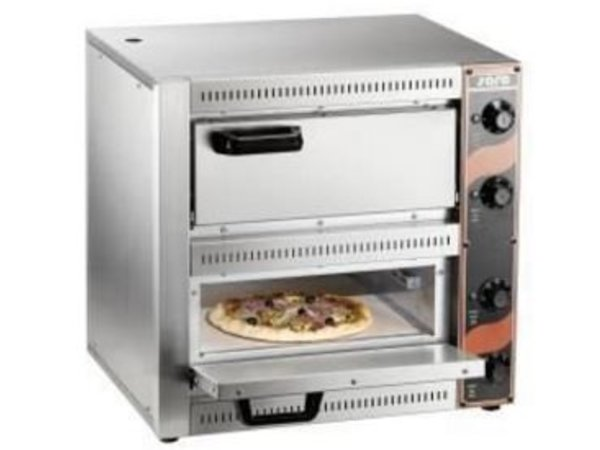 Saro Pizza-Ofen Doppel Electric | 2 Pizzen Ø33cm | 2,5 kW | 530x430x (H) 520mm
