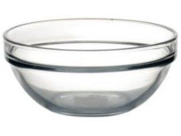 XXLselect Glaskopf - gehärtetes Glas - 340ml - 12 cm Ø - Preis per 6 Stück
