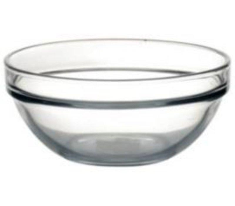XXLselect Glass Bowl - Tempered glass - 340ml - 12 cm Ø - Price per 6 Pieces