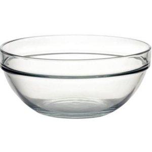 XXLselect Glazen Kom - Gehard glas - Prijs per 6 Stuks - 2,5Liter - Ø230mm