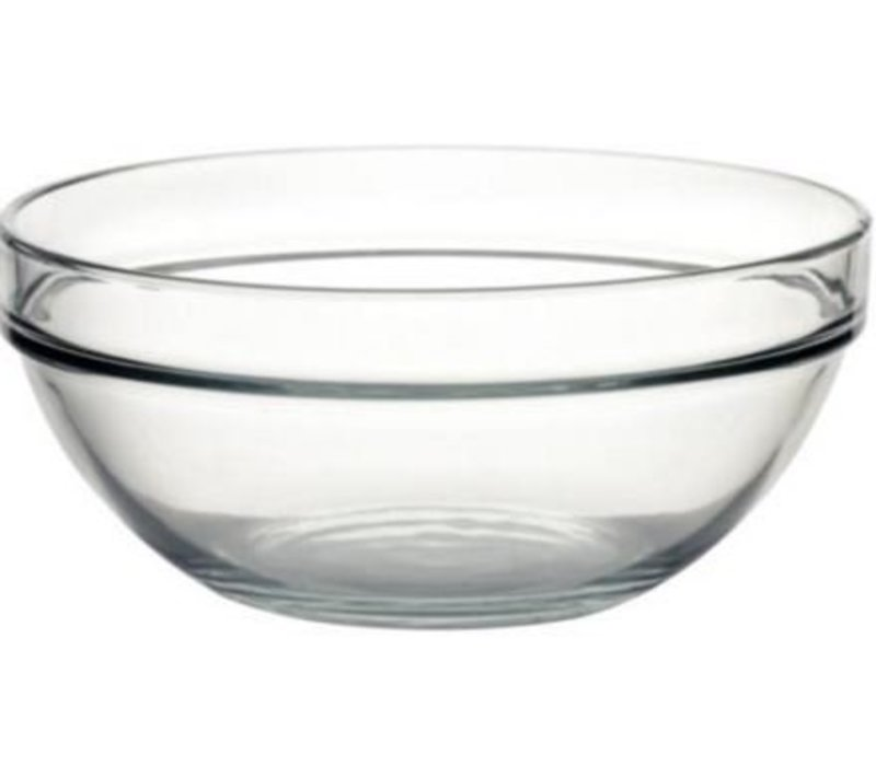 XXLselect Glaskopf - gehärtetes Glas - Preis per 6 Stück - 2,5Liter - Ø230mm