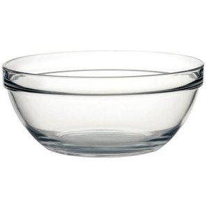 XXLselect Glazen Kom - Gehard glas - Prijs per 6 Stuks - 3,9 Liter - Ø260mm