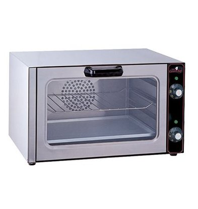 Caterchef Mini Fan oven - 53x38 (h) 32cm - Complete with 1 Grate and Griddle - 2.5kW