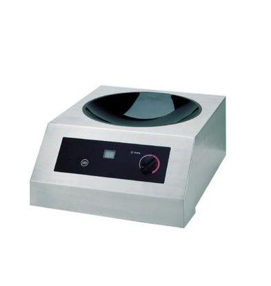 Saro Wok Inductie kookplaat 9 standen - 38,5x48x(h)15 - 2500W/230V