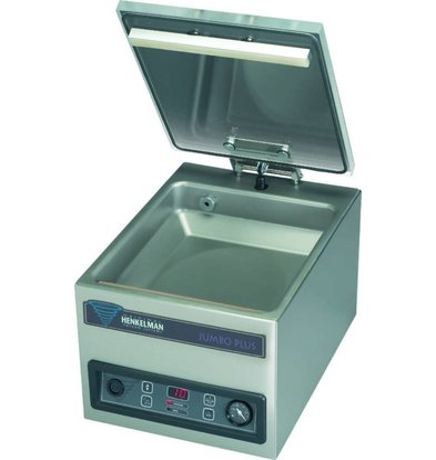 Henkelman Vacuummachine Jumbo Plus | Henkelman | 008m3 / 15-35 sec | Afm. Kamer 310x280x(h)85mm