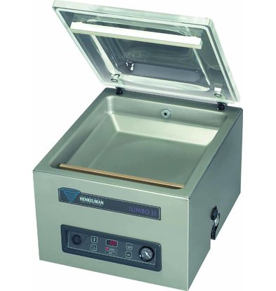 Henkelman Vakuummaschine Jumbo 35 | Henkelman | 016m3 / s 15-30 | Dim. 370x350x Raum (H) 150 mm