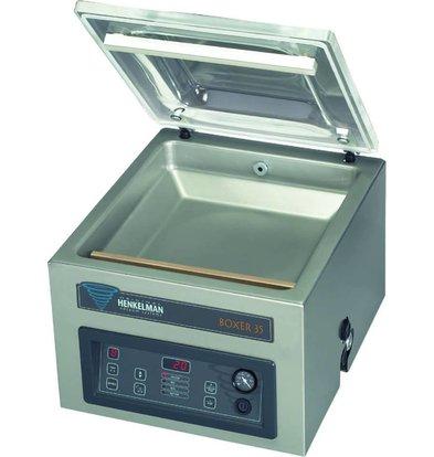 Henkelman Vakuum-Maschine Boxer 35 | Henkelman | 016m3 / s 15-30 | Dim. Zimmer. 470x350x (H) 150mm