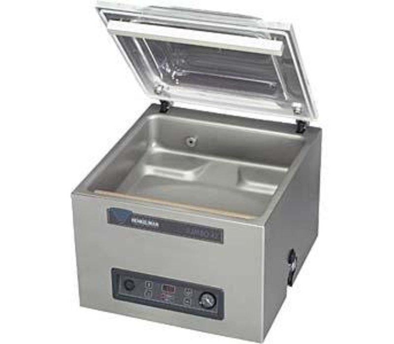 Henkelman Vacuummachine Boxer 42 - Dubbele Seal Balk | Henkelman | 021m3 / 15-35 sec | Afm. Kamer 320x420x(h)180mm