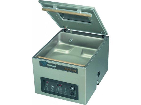 Henkelman Vacuummachine Boxer 42 XL BI-Active - Al zakken | Henkelman |15-35 sec |Kamer 460x420x(h)120mm
