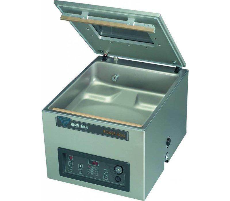 Henkelman Vakuum-Maschine Boxer 42 XL BI Aktiv - Aluminiumbeutel | Henkelman | 15-35 sec | Zimmer 460x420x (H) 120 mm