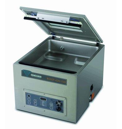 Henkelman Vacuummachine Boxer 42 XL ESD - Antistatische zakken | Henkelman |15-35 sec|Kamer 460x420x(h)120mm