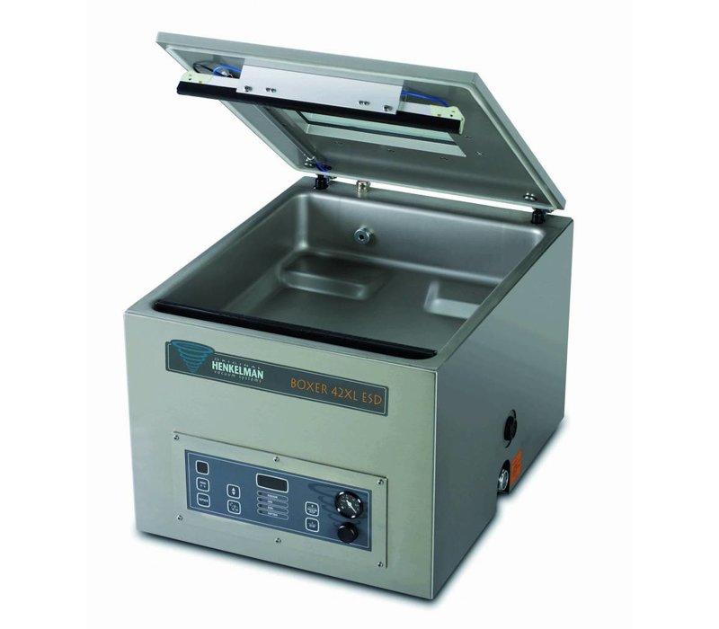 Henkelman Vakuum-Maschine Boxer 42 XL ESD - Antistatik-Taschen | Henkelman | 021m3 / s 15-35 | Dim. 460x420x Raum (H) 120 mm