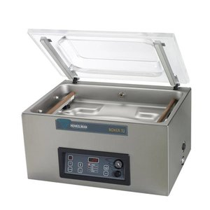 Henkelman Vacuummachine Boxer 52 - Dubbele Seal Balk   Henkelman   021m3 / 20-40 sec   Afm. Kamer 360x520x(h)185mm