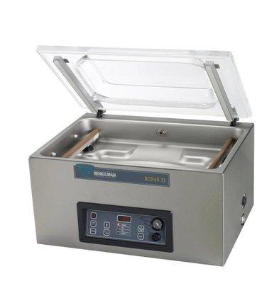 Henkelman Vakuum-Maschine Boxer 52 - Dual Seal Balk | Henkelman | 021m3 / s 20-40 | Dim. 360x520x Raum (H) 185mm
