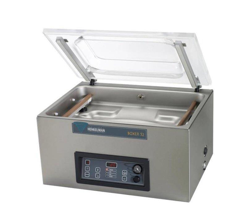 Henkelman Vakuum-Maschine Boxer 52 - Dual Seal Balk   Henkelman   021m3 / s 20-40   Dim. 360x520x Raum (H) 185mm