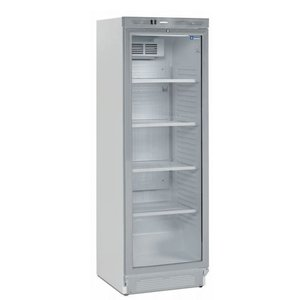 Diamond Refrigerator - 380 liters - Glass door - 59x60x (h) 184cm - Left and Right Revolving Door