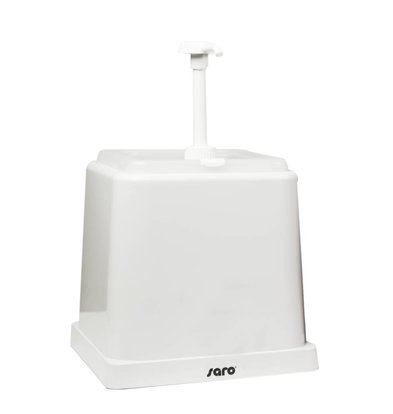 Saro Soßenspender - Weiss - 2 Liter - Grund