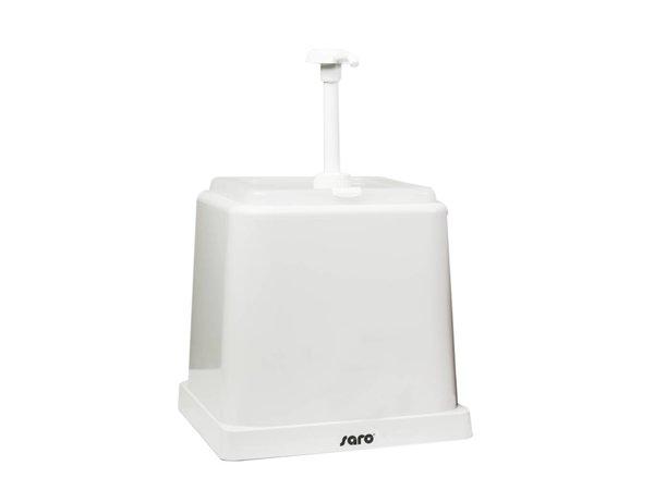 Saro Sauce Dispenser - White - 2 Liter - Basic