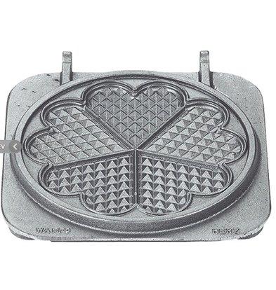 Neumarker Herz Waffle Insert Only | Gusseisen