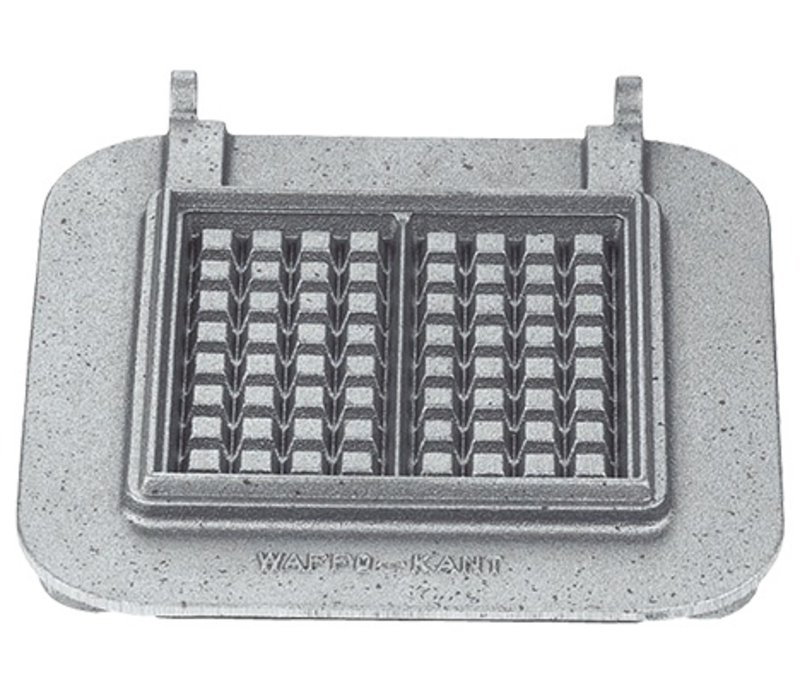 Neumarker Waffle Insert Only   Cast iron