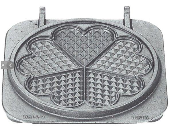 Neumarker Hartwafel Wisselplaat Dubbel | Gietijzer