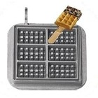 Neumarker Waffle on Stick Insert Only | Cast iron