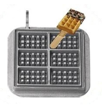Neumarker Waffle on Stick Insert Only   Cast iron