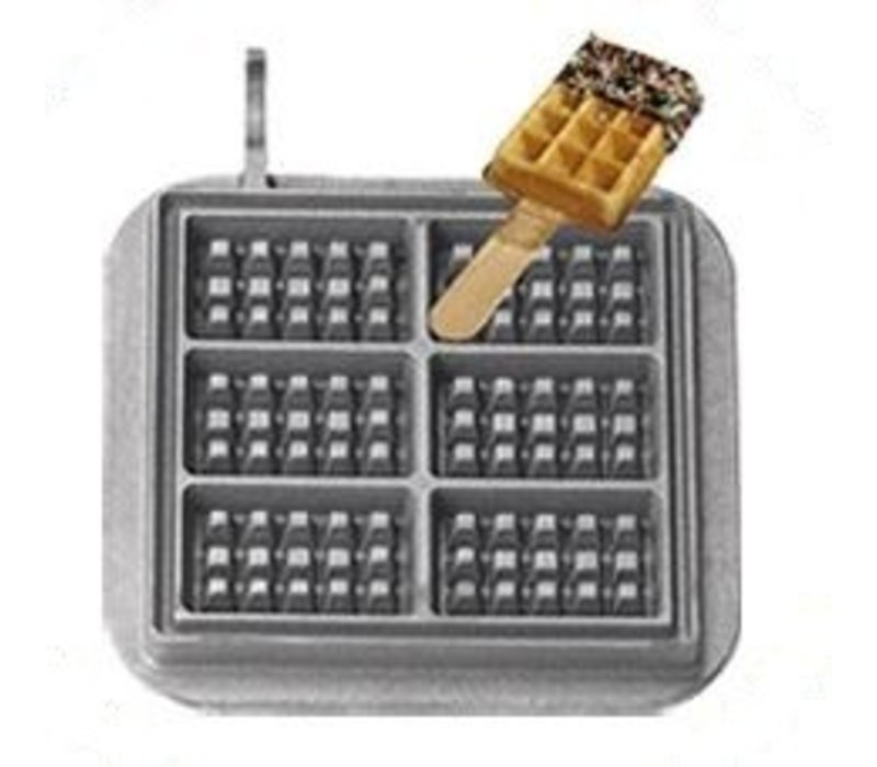 Neumarker Waffle on Stick Insert Only | Cast iron