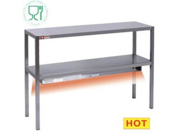 Diamond Chefrek / Heat bridge | SS 2 Levels | 1400x300x (H) 700mm