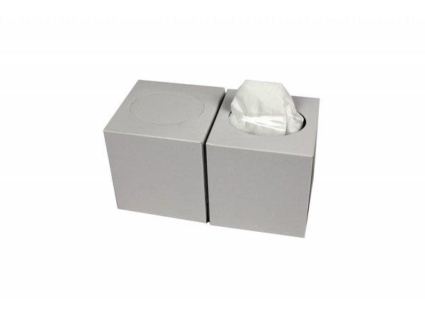 XXLselect Facial Tissues Vierkant   Cellulose 2 laags   19 x 19cm   24 x 80 in Doos   (ook Pallets) Prijs per 1920 Tissues