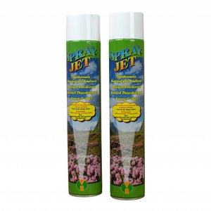XXLselect Air Freshener Spray | Amber odor | Price per 12 x 750 mL