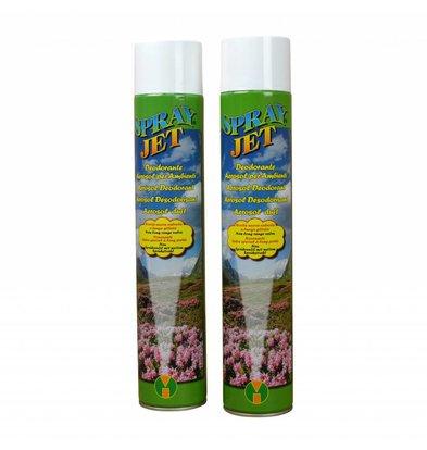 XXLselect Lufterfrischer Spray | Bernstein Geruch | Preis je 12 x 750 ml