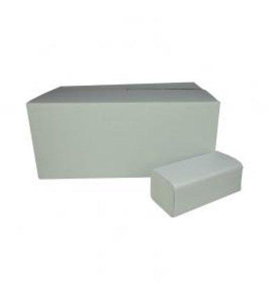 XXLselect Handdoekjes ZZ-vouw | Recycled | 2 laags, 23 x 25cm | 20 x 160 vel in Doos | (ook Pallets) Prijs per 3200 Vellen