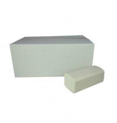 XXLselect Handdoekjes ZZ-vouw | Cellulose | 2 laags, 23 x 25cm | 20 x 160 vel in Doos | (ook Pallets) Prijs per 3200 Vellen