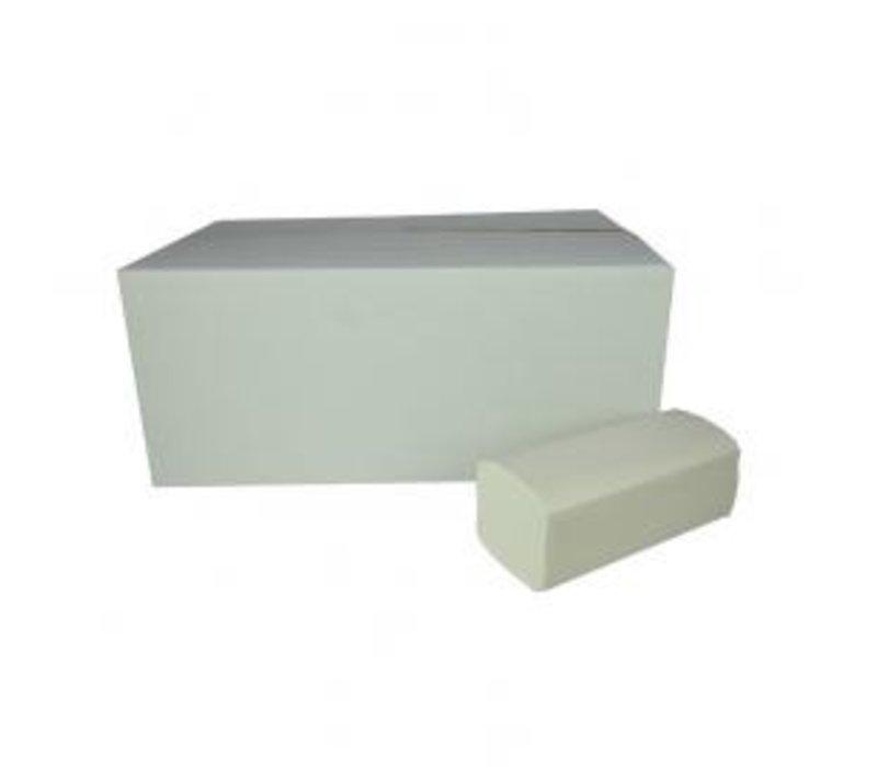 XXLselect Handtücher ZZ-fach | Cellulose | 2-lagig, 23 x 25 cm | 20 x 160 Blatt in Box | (auch Paletten) Preis pro 3200 Blatt