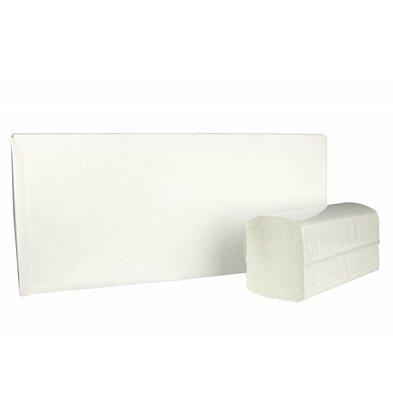 XXLselect Handtücher ZZ-fach | Recycled | 2-lagig, 23 x 25 cm | 15 x 215 Blätter in Box | (auch Paletten) Preis pro 3225 Blatt