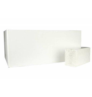 XXLselect Handdoekes X-press | Cellulose | 2 laags, 27 x 22cm | 18 x 170 vel in Doos | (ook Pallets) Prijs per 3060 Vellen