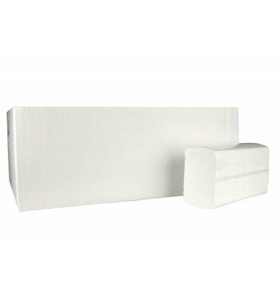 XXLselect Handtücher X-press | Cellulose | 2-lagig, 24 x 24 cm | 25 x 150 Blatt in Box | (auch Paletten) Preis pro 3750 Blatt