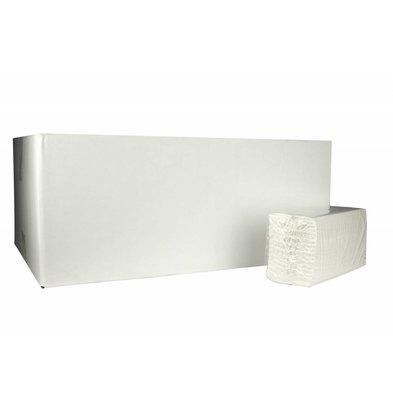 XXLselect C-fach Handtücher | Cellulose | 2-lagig, 31 x 25 cm | 20 x 152 Blätter in Box | (auch Paletten) Preis pro 3040 Blatt