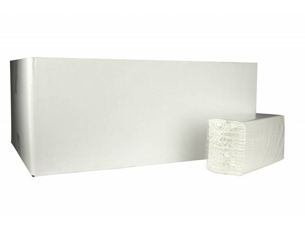 XXLselect C-fold towels | Cellulose | 2 ply, 31 x 25cm | 20 x 152 sheets in Box | (also Pallets) Price per 3040 sheets