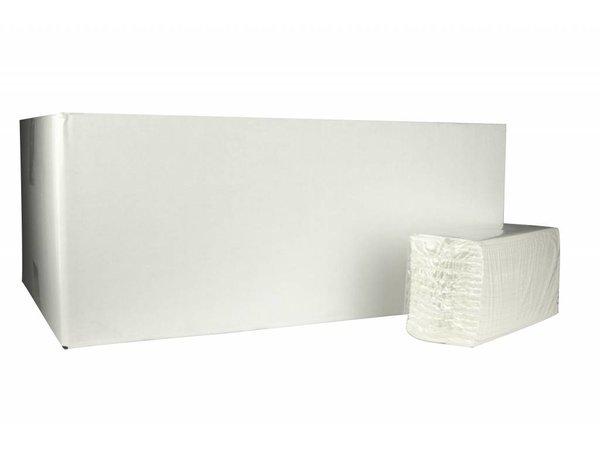 XXLselect Handdoekjes C-vouw | Cellulose | 2 laags, 31 x 25cm |20 x 152 vel in Doos | (ook Pallets) Prijs per 3040 Vellen