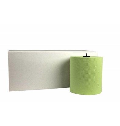 XXLselect HPG Handtuch   Matic Green   2-Schicht   21cm x 150m Rolls   (Einschließlich Paletten) Preis pro 6 Rollen